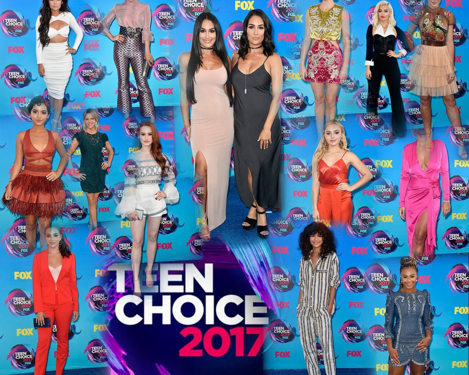 Red Carpet: Teen Choice Awards 2017